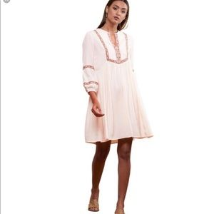 Ritu Kumar Mystique Boho Blush Dress